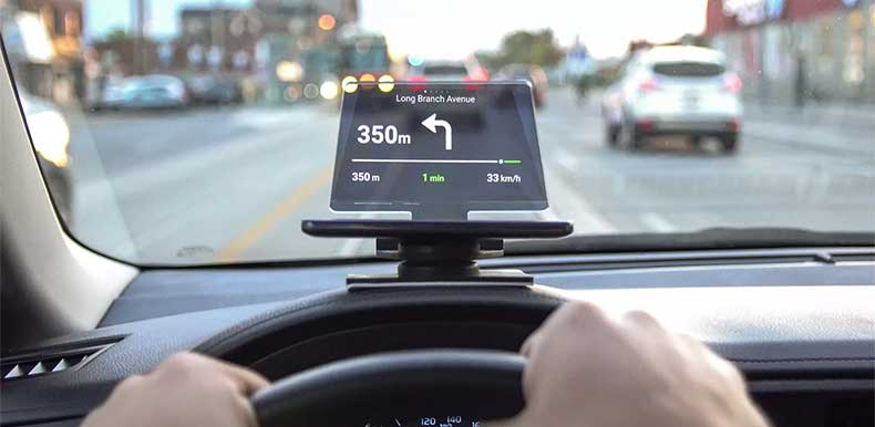 Hudify heads up display for your car.