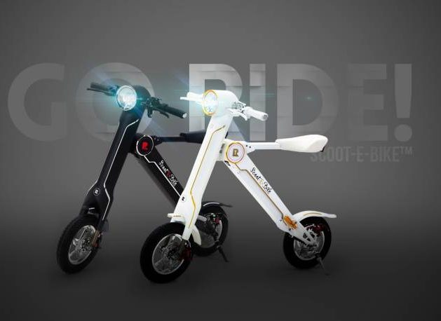 The Scoot-E-Bike is an electric bike that has lots of celebrity endorsements.