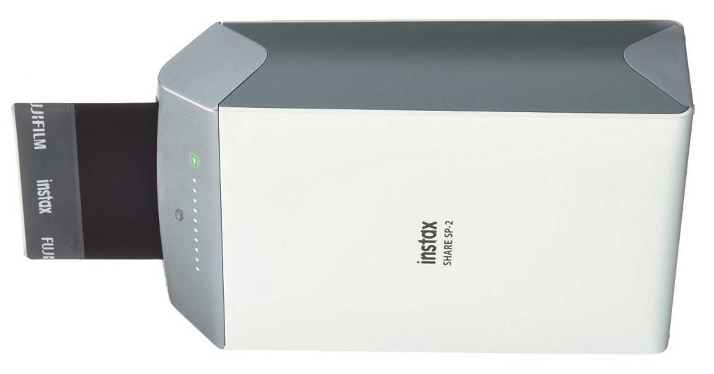The Fuljifilm Instax Share SP2 is also a good option when considering a portable z-Ink printer.